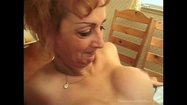 tranny Granny video a is