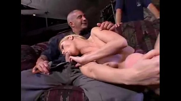 hot wife getting fucked by horny couple...