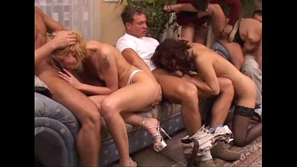 Incredible orgy with lots of DP...