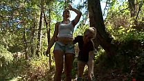 Girls Trapped For Sex In The Woods