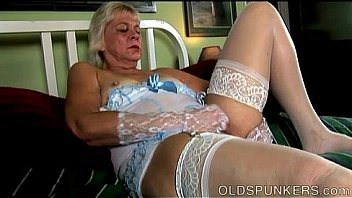 Saucy old spunker wishes you were fucking her wet pussy