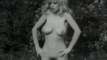 Thumbs hairy Beautiful retro pussy