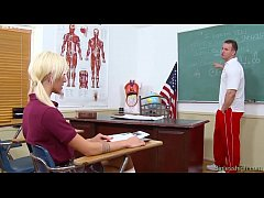 The coach fucks the spoiled student