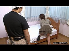 Slutty Asian getting fucked by a pervy dude