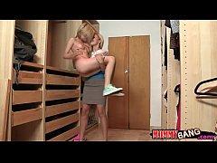 Dakota Skye and Cherie Deville FFM threesome on...