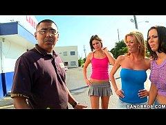 Dirty pornstar sex at bowling alley w/ Rachel S...