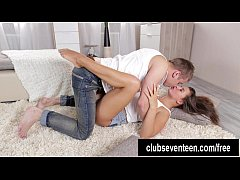 Hot teen Kate gets pussy nailed