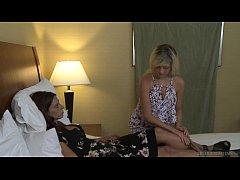 Eva Long and Alesandra Noir lesbian fun - Girlf...