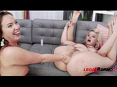 Proxy Paige & Maddy O'Reilly anal sex party wit...
