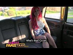 Female FakeTaxi Redhead Fingerfucked by Cabbie