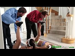 Sexy Yoga Friends Audrey Royal & Kara Faux Swap Dads To Fuck