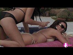 Busty Teen and Milf Lesbian Sex - Viv Thomas HD