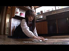 Asian housekeeper gets fucked and creamed by th...