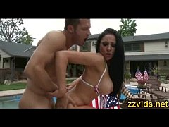 Audrey Bitoni hot outdoor fuck