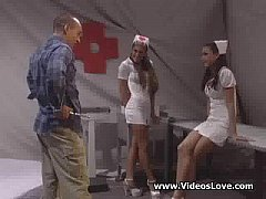 Nurse Gets some Extra Attention