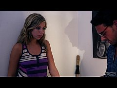 Chastity Lynn Gets Her Pussy Drilled in PAINT, ...