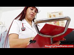 Wifey redhead fingering in uniforms