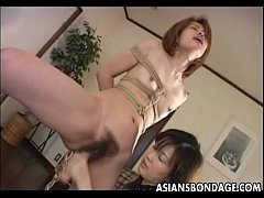 Cute Asian babe tormented by her smoking hot mi...