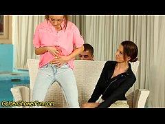 Urine whores get railed