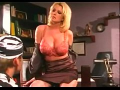 Milf with big tits fucked by young man