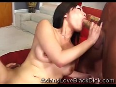 2 Horny Chinese babe team up to blow huge forei...