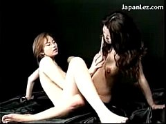 2 Busty Asian Girls Kissing Rubbing Their Pussi...