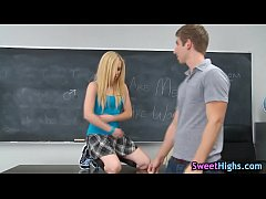 College teen gets creamed