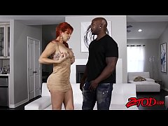 Busty ginger milf Savana Styles drilled and fac...