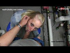 My Dirty Hobby - Lara-CumKitten das Rohr geblasen