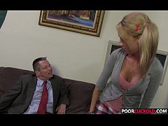 A BBC For HotWife Kaylee Hilton While Cuckold W...