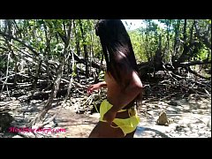 Thai teen heather goes atving in paradise and g...
