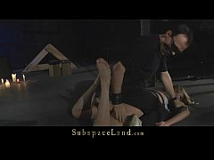 Anal bliss and rude treatment for Russian slave...