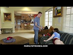 FamilyStrokes - Cumming Home To New Step Sister