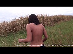 image Rancher cowgirl naked around the iowa farm