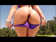 Gracie Glam Lust strip striptease oil solo bikini masturbate