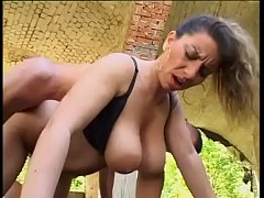 Busty women targeted and banged by horny men Vo...