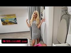 Tiny tits blonde teen Elizabeth Jolie pounded b...