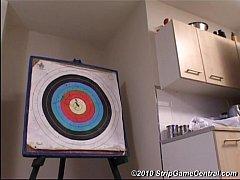 Demi amp sarah play strip darts