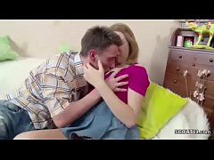 Bro Seduce 18yr old StepSister to get First Fuc...