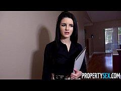 PropertySex - Careless real estate agent fucks ...