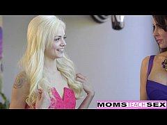 Teen Elsa Jean & Mom Jessica Jaymes FFM Fuck