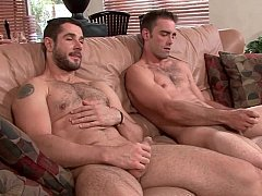 Joe Parker's1st gay4pay scene ever.with a reall...