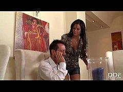 Gorgeous Milf Secretary Devours her Bosses thic...