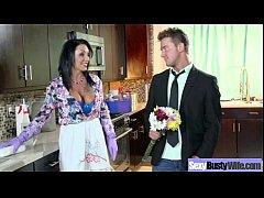 (ashton blake) Horny Busty Wife In Hard Style B...
