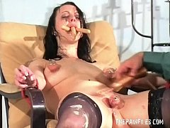 Bizarre female humiliation and messy degradatio...