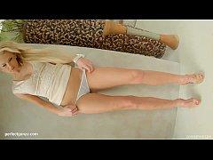 Super hot solo girl Ivana Sugar masturbating on...
