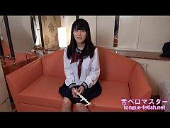 Japanese Asian Girls Long Tongue Showing, Tongu...