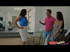 Big tits milf Kendra Lust nasty threeway with t...
