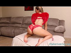 Kimber Lee Makes Valentine's Day video for BF!
