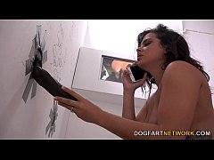 Keisha Grey Goes Black At A Glory Hole